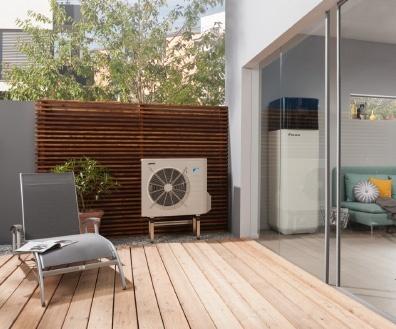 evasol nos solutions pompe a chaleur air eau hybride economies energie daikin